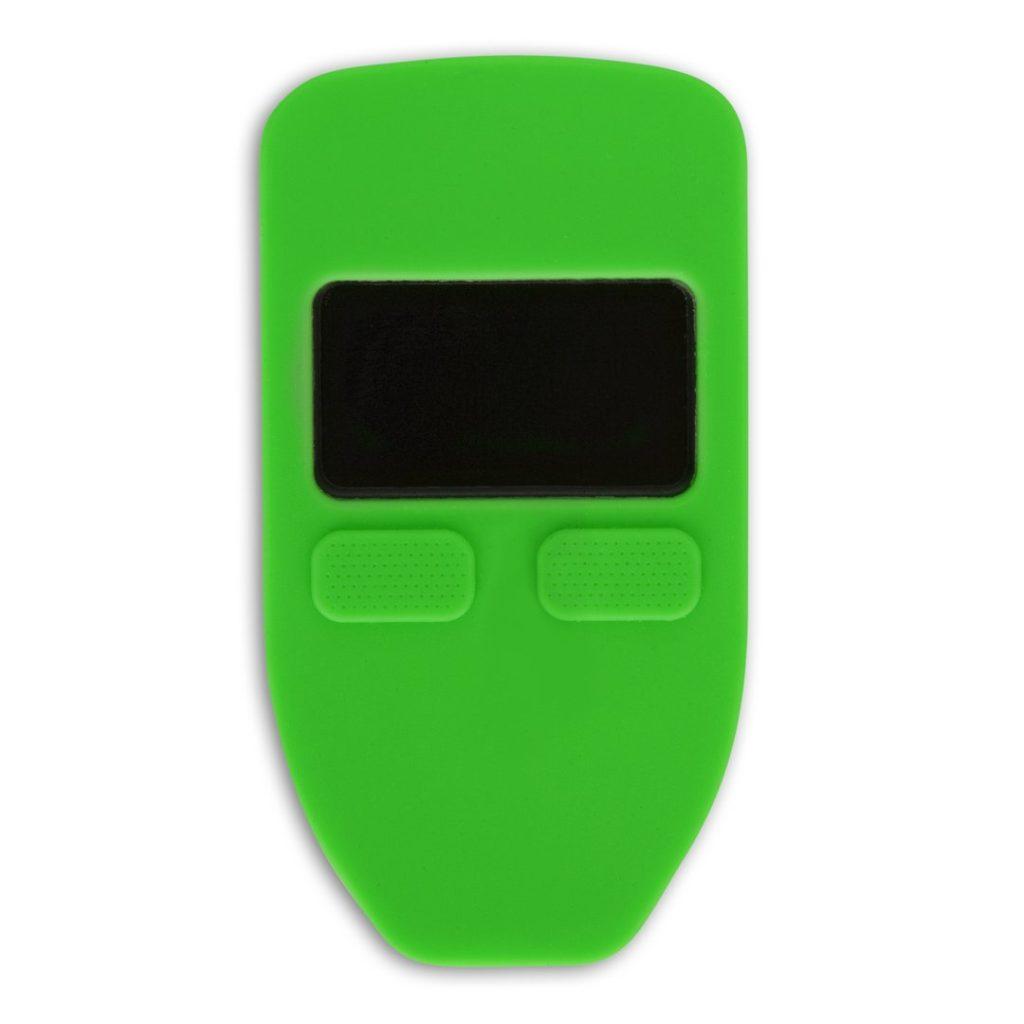 чехол trezor one зеленый