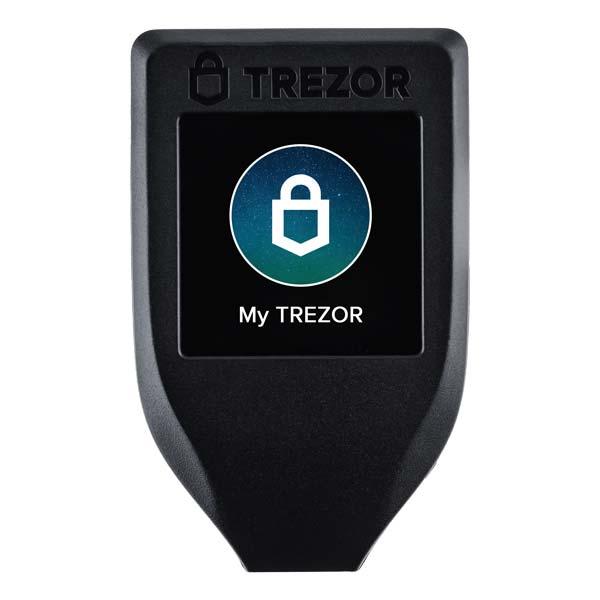 фотография trezor t 1