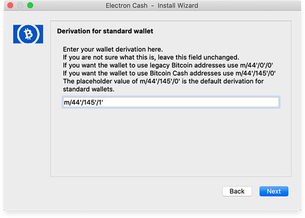 electron cash bitcoin sv6